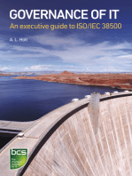 Governance of IT: An executive guide to ISO/IEC 38500