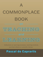 A Commonplace Book on Teaching and Learning