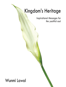 Kingdom's Heritage: Inspirational Messages for the Youthful Soul