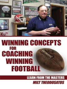 Winning Concepts for Coaching Winning Football: Learn from the Masters