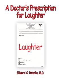 A Doctor's Prescription for Laughter