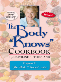 "The Body ""Knows"" Cookbook"