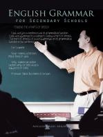 English Grammar for Secondary Schools