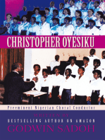 Christopher Oyesiku: Preeminent Nigerian Choral Conductor