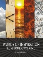 Words of Inspiration from Your Own Kind