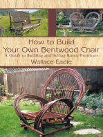 How to Build Your Own Bentwood Chair