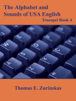 The Alphabet and Sounds of Usa English