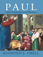 Paul, God'S Evangelist and Minister