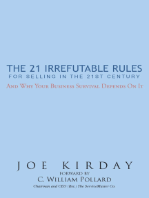 The 21 Irrefutable Rules for Selling in the 21St Century: And Why Your Business Survival Depends on It