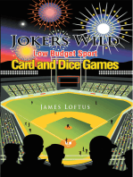 Jokers Wild Low Budget Sport Card and Dice Games