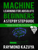 Machine Learning For Absolute Begginers A Step By Step Guide