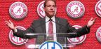 Two Quarterbacks, One Big Question, And Zero Answers From Alabama Coach Nick Saban