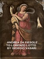 Andrea da Fiesole to Lorenzo Lotto
