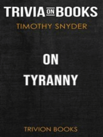 On Tyranny by Timothy Snyder (Trivia-On-Books)