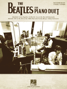 The Beatles for Piano Duet: NFMC 2020-2024 Selection Intermediate Level - 1 Piano, 4 Hands