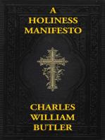 A Holiness Manifesto