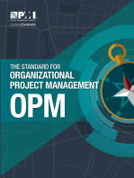 The Standard for Organizational Project Management (OPM)