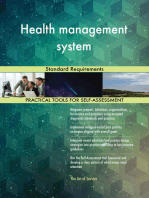 Health management system Standard Requirements