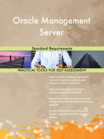 Oracle Management Server Standard Requirements