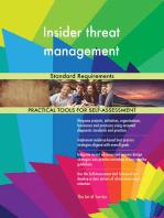Insider threat management Standard Requirements