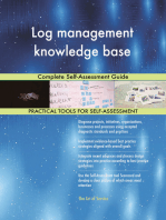 Log management knowledge base Complete Self-Assessment Guide