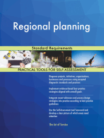 Regional planning Standard Requirements