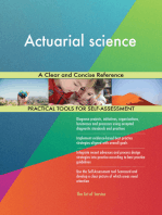 Actuarial science A Clear and Concise Reference