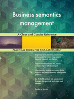 Business semantics management A Clear and Concise Reference