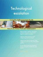 Technological escalation Complete Self-Assessment Guide