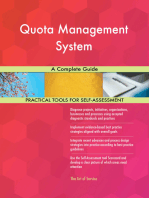 Quota Management System A Complete Guide