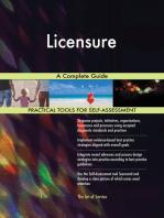 Licensure A Complete Guide