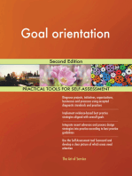 Goal orientation Second Edition