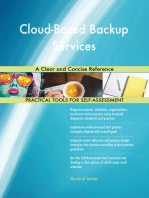 Cloud-Based Backup Services A Clear and Concise Reference
