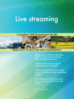 Live streaming Complete Self-Assessment Guide