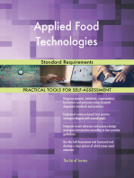 Applied Food Technologies Standard Requirements