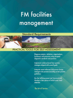 FM facilities management Standard Requirements