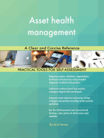 Asset health management A Clear and Concise Reference