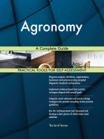 Agronomy A Complete Guide