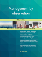 Management by observation Third Edition