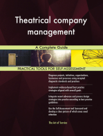 Theatrical company management A Complete Guide