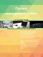 Element management system A Complete Guide