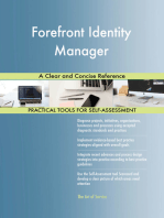 Forefront Identity Manager A Clear and Concise Reference
