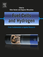Fuel Cells and Hydrogen: From Fundamentals to Applied Research