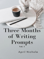 Three Months of Writing Prompts