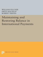 Maintaining and Restoring Balance in International Trade