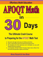 AFOQT Math in 30 Days