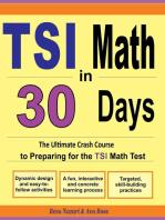 TSI Math in 30 Days