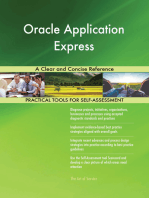 Oracle Application Express A Clear and Concise Reference