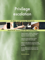 Privilege escalation A Clear and Concise Reference