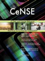CeNSE A Clear and Concise Reference